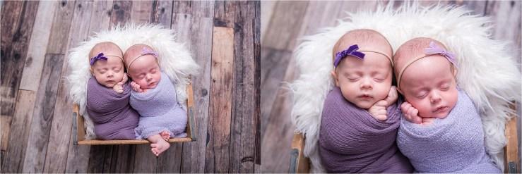 Twin Newborn Photographer Logan Utah