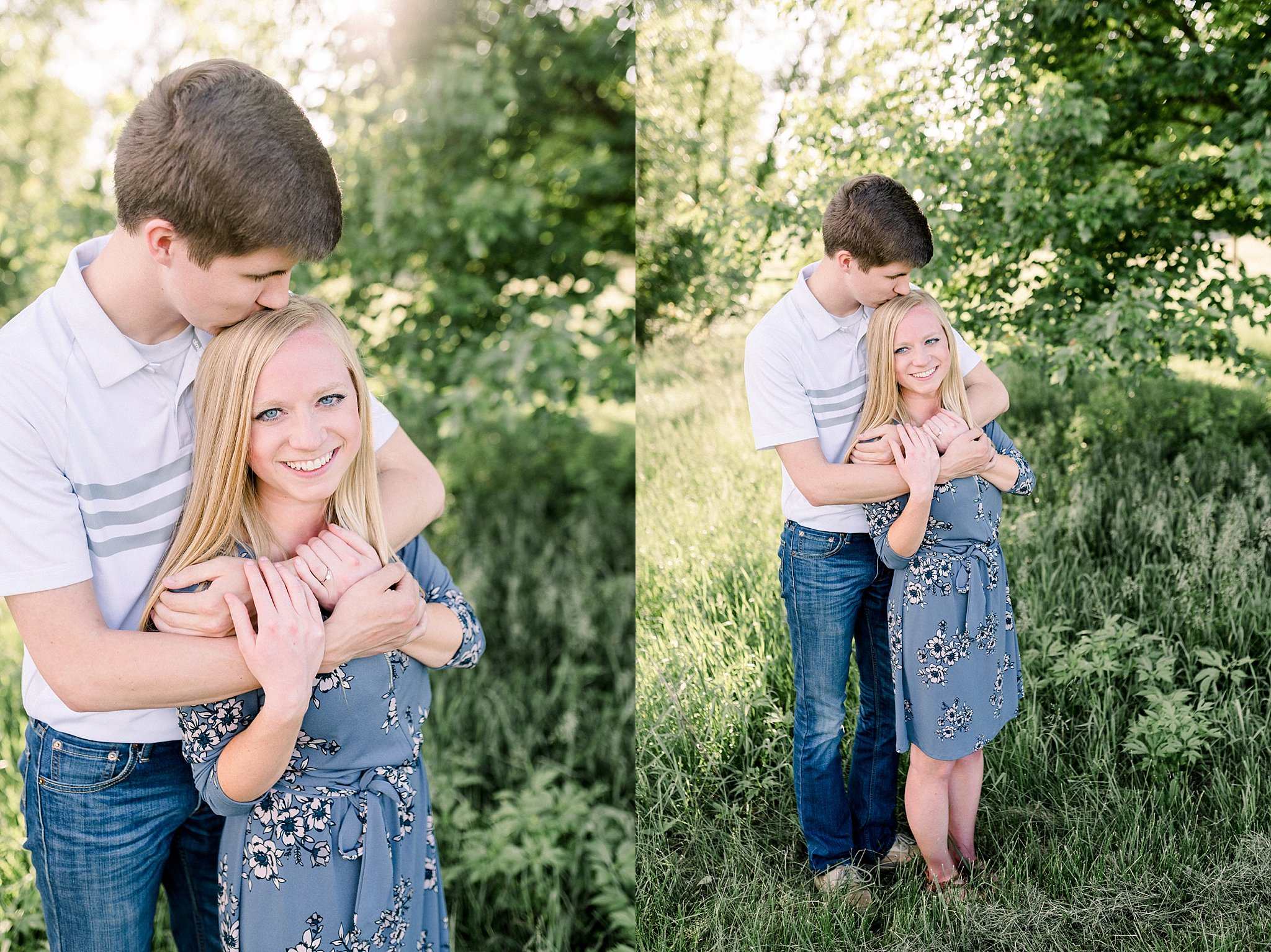Metea County Park Engagement Session
