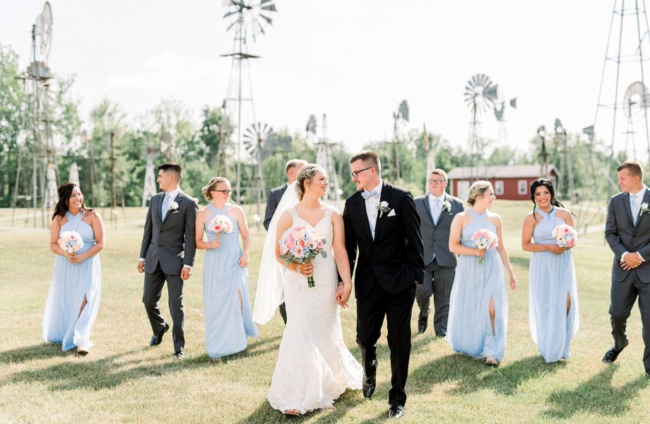 Mid-America Windmill Museum Wedding | Mr + Mrs Thompson