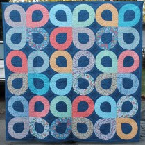 Whirlpool Quilt- American Quilter Magazine March 2015