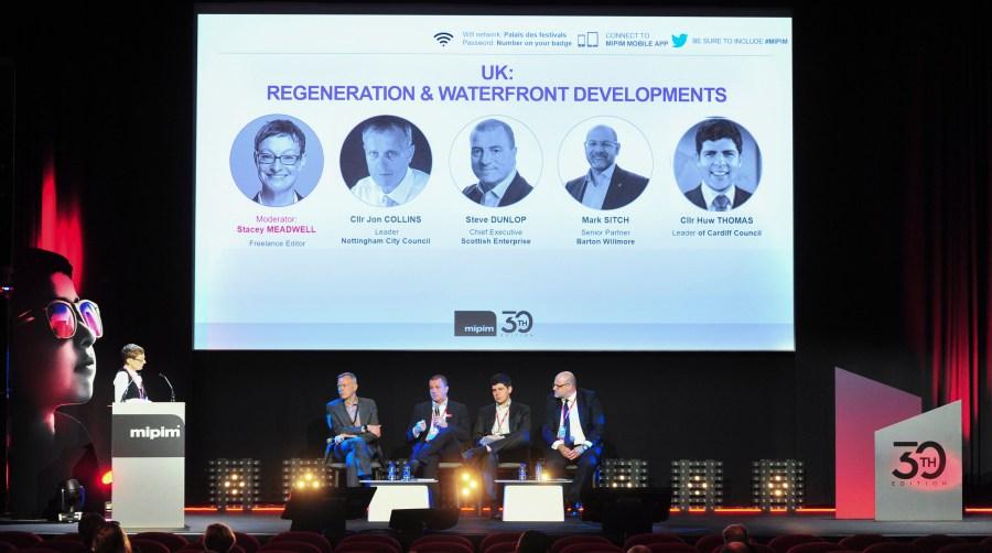 MIPIM 2019 - CONFERENCES - UK: REGENERATION & WATERFRONT DEVELOPMENTS