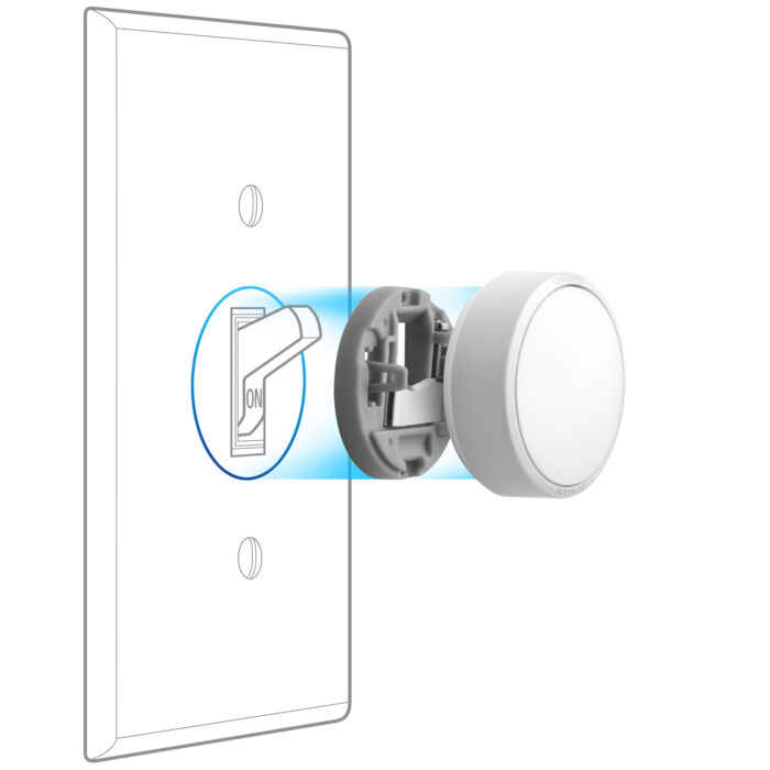 - Lutron Aurora smart bulb dimmer e1558577719557 - Podcast: Lutron has saved the smart bulb! – Stacey on IoT