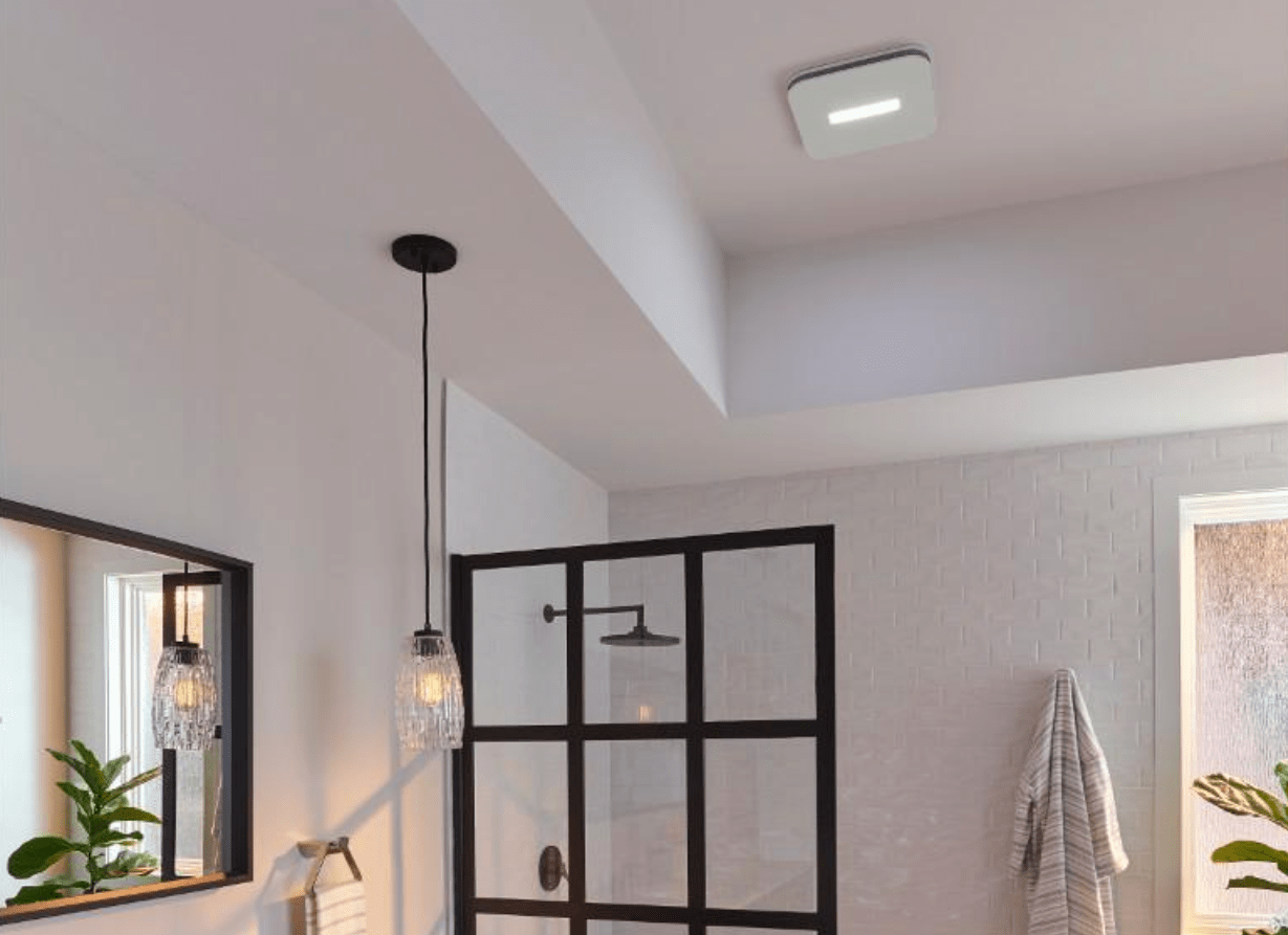 Three smart, connected bathroom exhaust fan options to tackle humidity