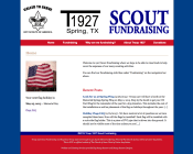 Troop 1927 Scout Fundraising Website Redesign