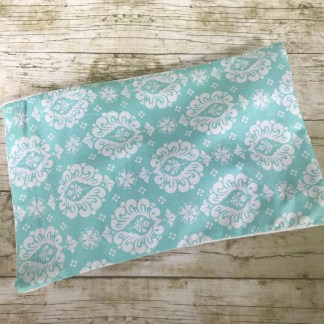Ice Pack Cover - Damask Aqua - 6x8 - Stacey Sansom Designs