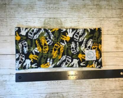 Ice Pack Cover - Dinosaur Skeleton - 6x12