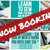 Group Sewing Lessons - Now Booking! | CLASSES | Stacey Sansom Designs