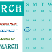Happy March   Stacey Sansom Designs