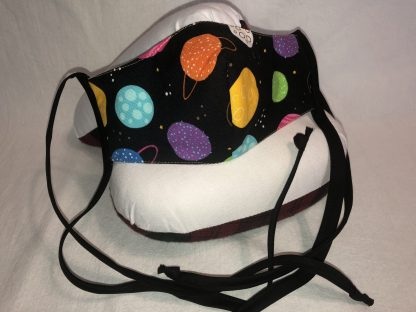 Small Face Mask (Ver 1) - Planets | Stacey Sansom Designs
