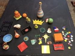 sampler pottery