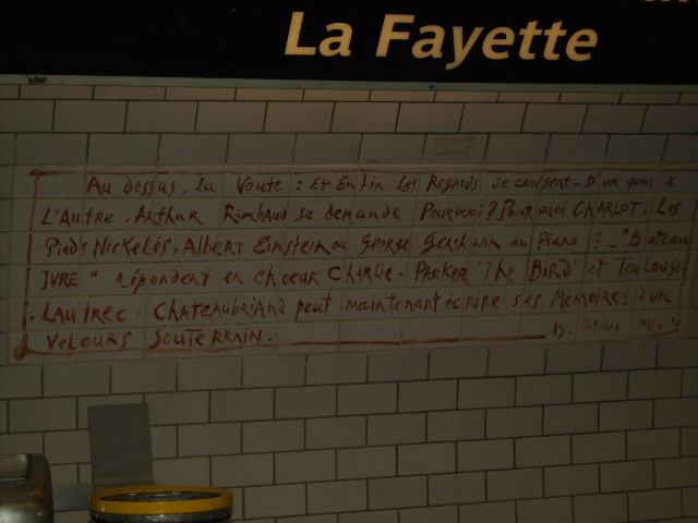 i have no idea what this says, but i recognized the american names/shout-outs and loved the penmanship.