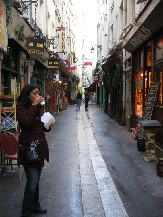 in the latin quarter