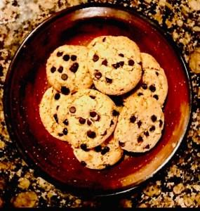 Vegan Almond Joy Cookies