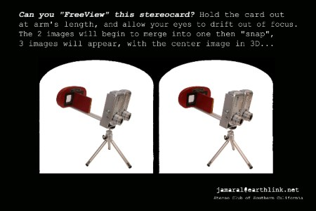 hacked digital cams converted to stereo