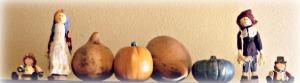 pilgrims and pumpkins