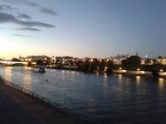 Widok z mostu na Guadalquivir