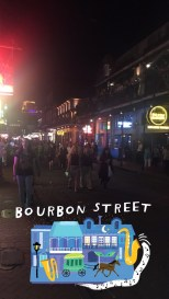 Joining the fun on Bourbon