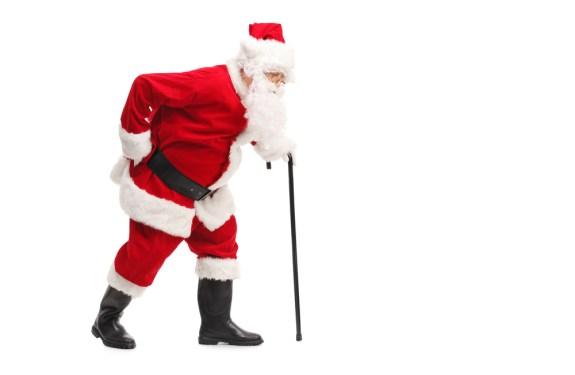 Tired Santa Clause
