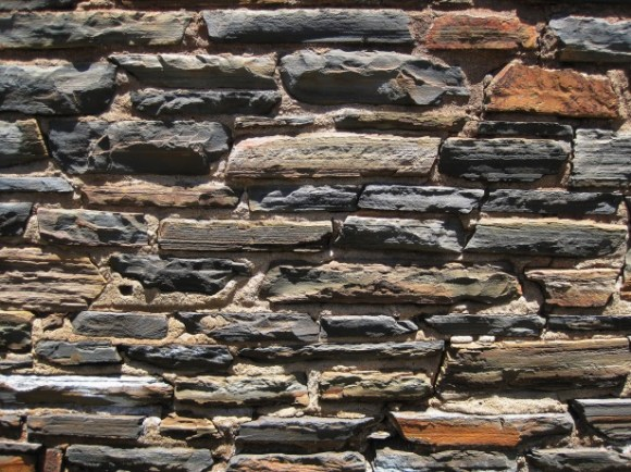 Wall Built With Stones