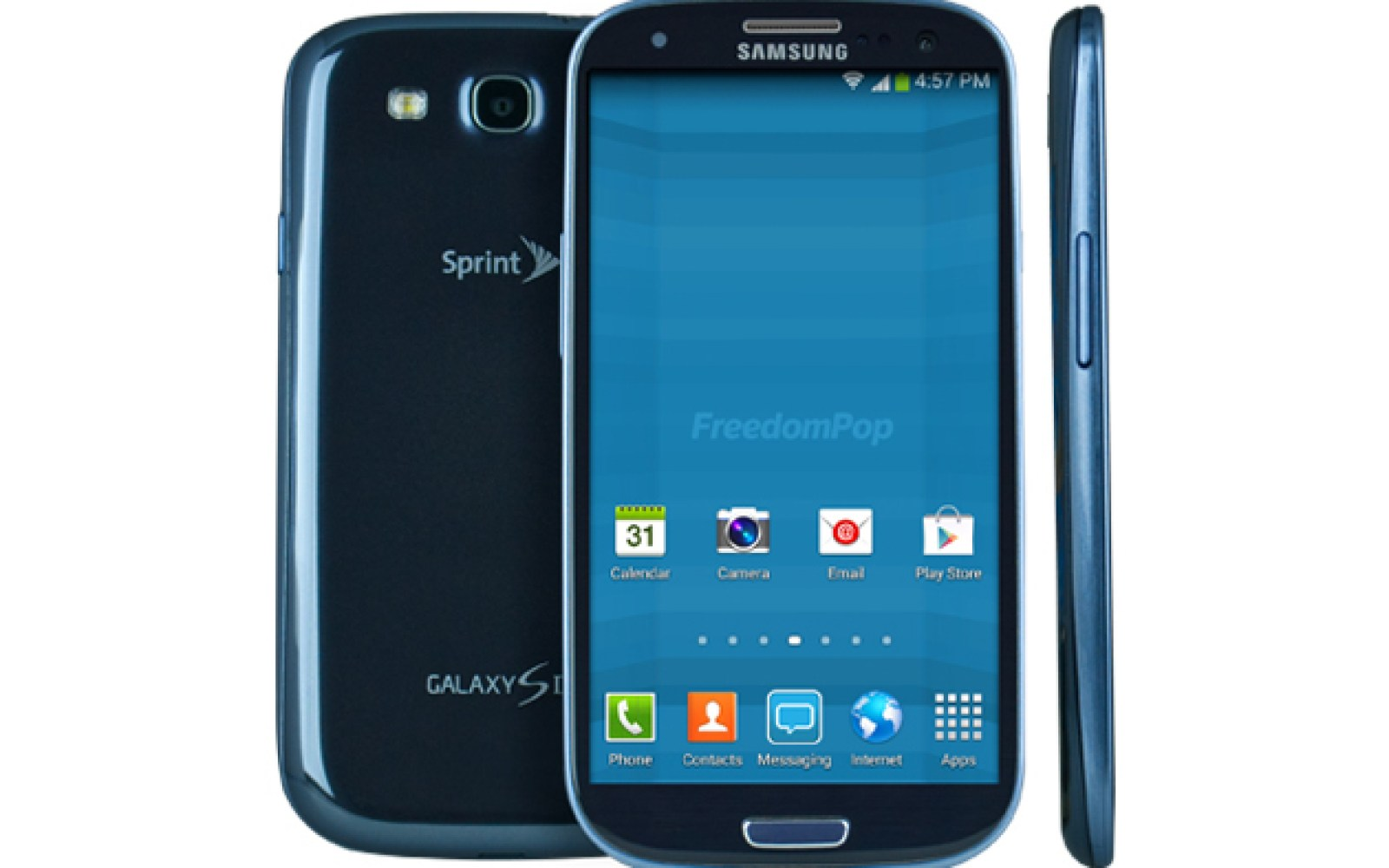 Samsung Galaxy SIII with 1-Yr of unlimited talk and text, 500MB/m data: $150 shipped (Orig. $941, CA Tax Only)
