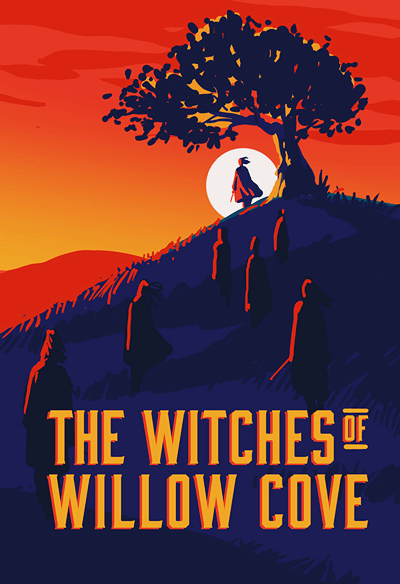 Original cover concept for THE WITCHES OF WILLOW COVE.
