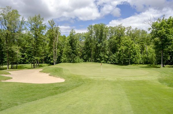 Golf is usually involved in Walker Minnesota vacations