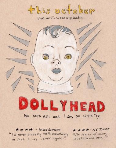 coming soon: dollyhead . stacy elaine dacheux . 2015