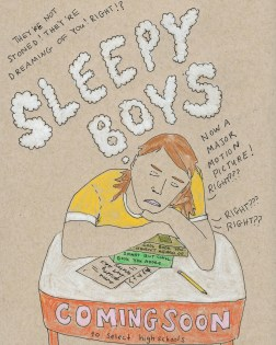 coming soon: sleepy boys . stacy elaine dacheux . 2015