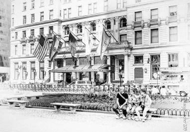 Plaza Hotel New York City, exterior front entrance