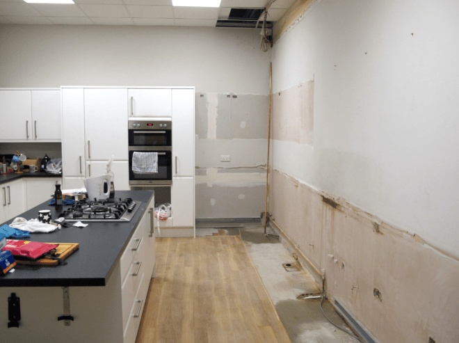 kitchen refurb