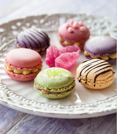 Macarons Photographed by Stacy Grant