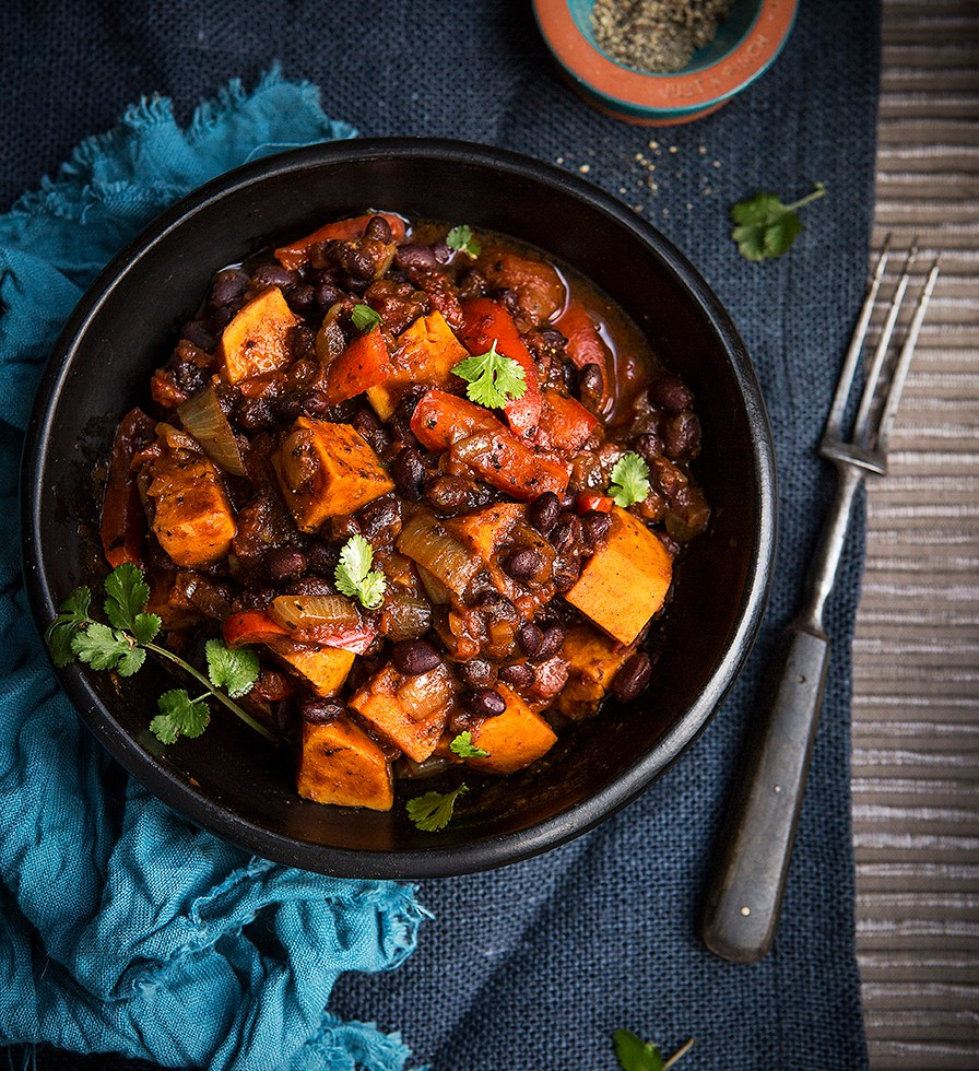 Sweet Potato and Black Bean Jerk Curry   Stacy Grant   Food Photographer