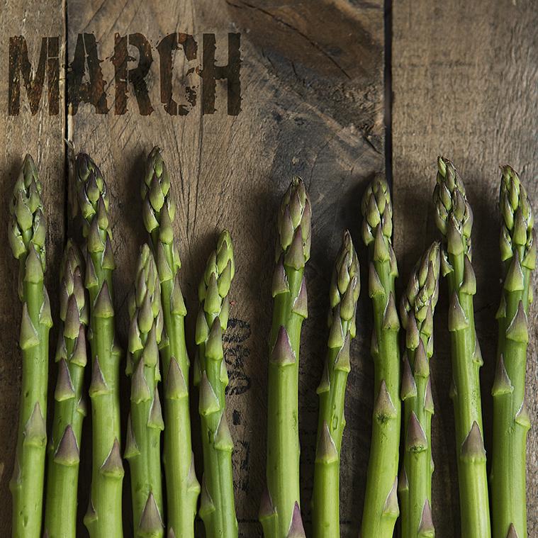 March Seasonal | Asparagus | Stacy Grant Food Photographer | Food Photography