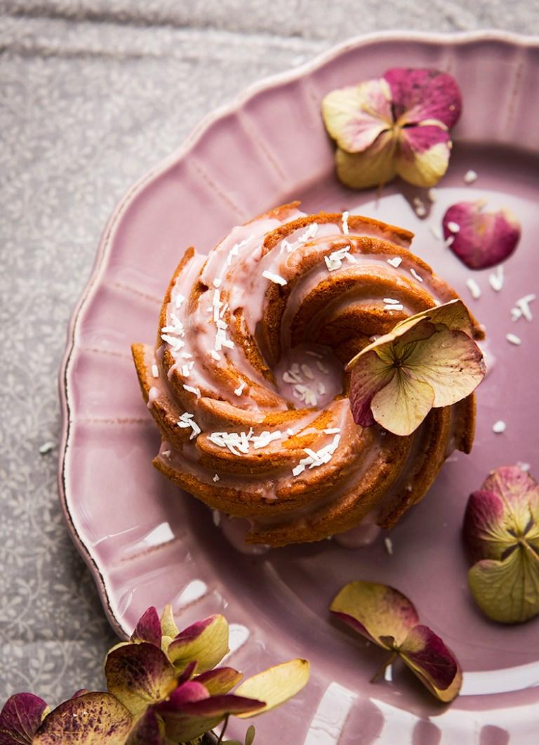Mini bundt cake | Mother's Day | International Women's Day | Stacy Grant | Food Photographer