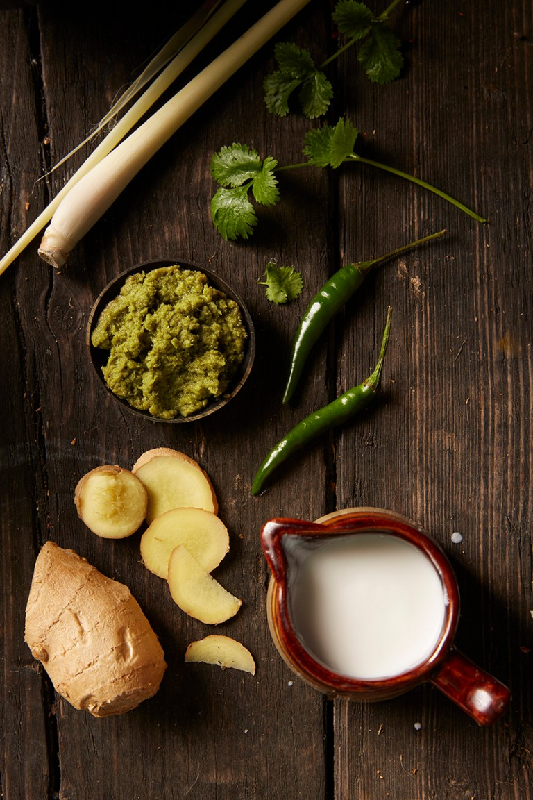 Thai Green Curry   Ingredients   Stacy Grant Photographer