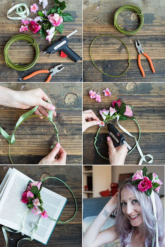 Festival Flower Crown | 52 weekends | Inspiration by Stacy Grant