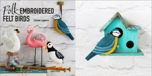 Folk Embroidered Felt Birds Craft Photography by Stacy Grant