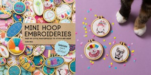 Mini Hoop Embroideries Craft Photography by Stacy Grant