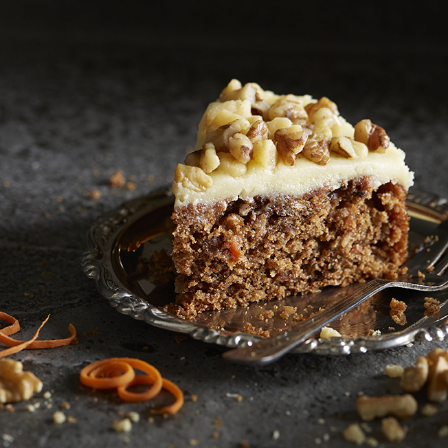 Carrot Cake | Stacy Grant Photography | Food Photographer UK