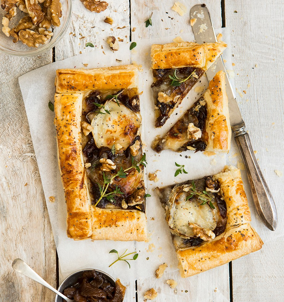 Goats cheese tart | Meat Free Monday | Stacy Grant | Food Photography