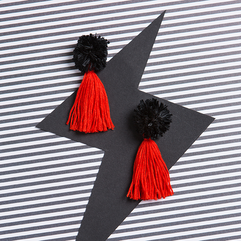Tassel Earrings | 20 to Craft | Stacy Grant | Craft photographer