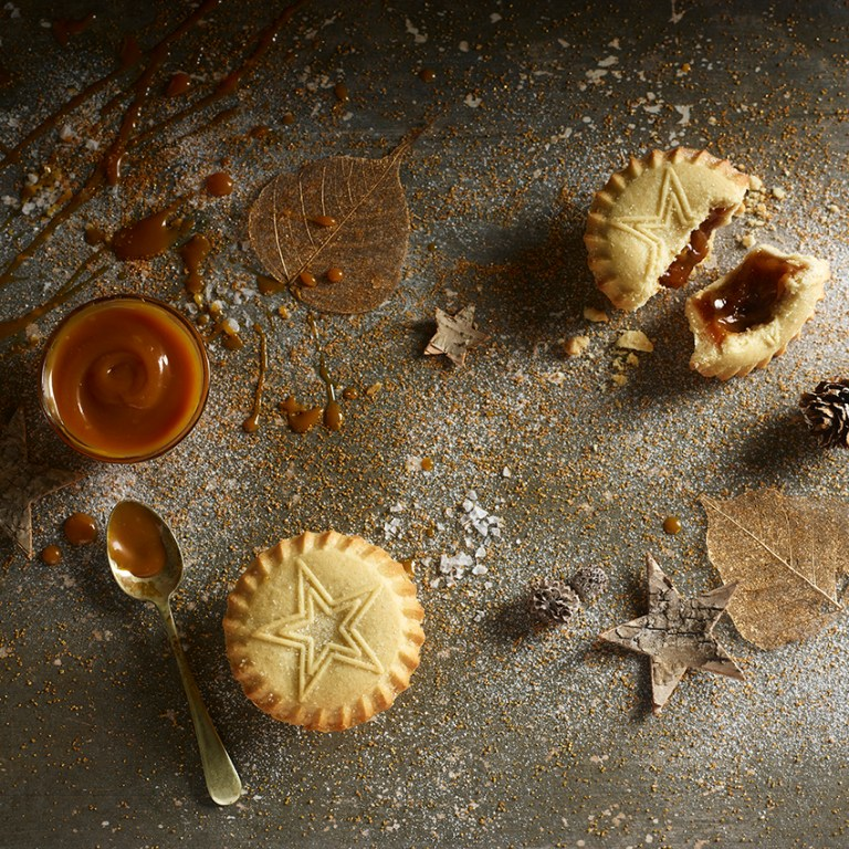 Mince Pies |Salted Caramel | Stacy Grant | Food Photographer