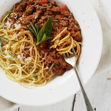 Spaghetti bolognese | Comfort food | Stacy Grant | Food Photographer UK