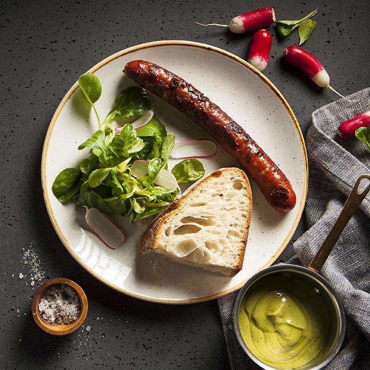 Sausages | X-Upper | London Restaurant | Stacy Grant Photography
