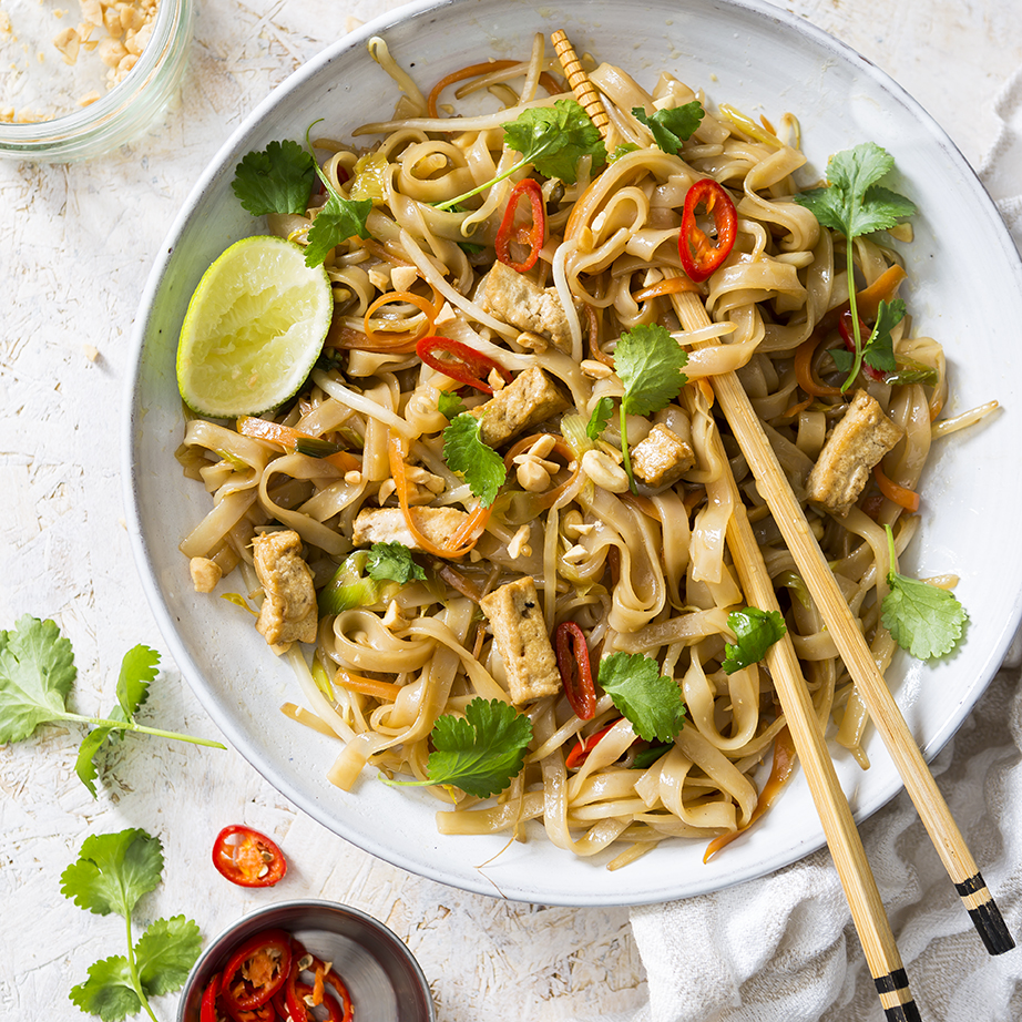 Tofu Pad Thai | Vegan recipe | Meat Free Monady | Stacy Grant Photographer
