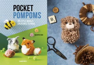 Pocket Pompoms | Search Press | Stacy Grant photography