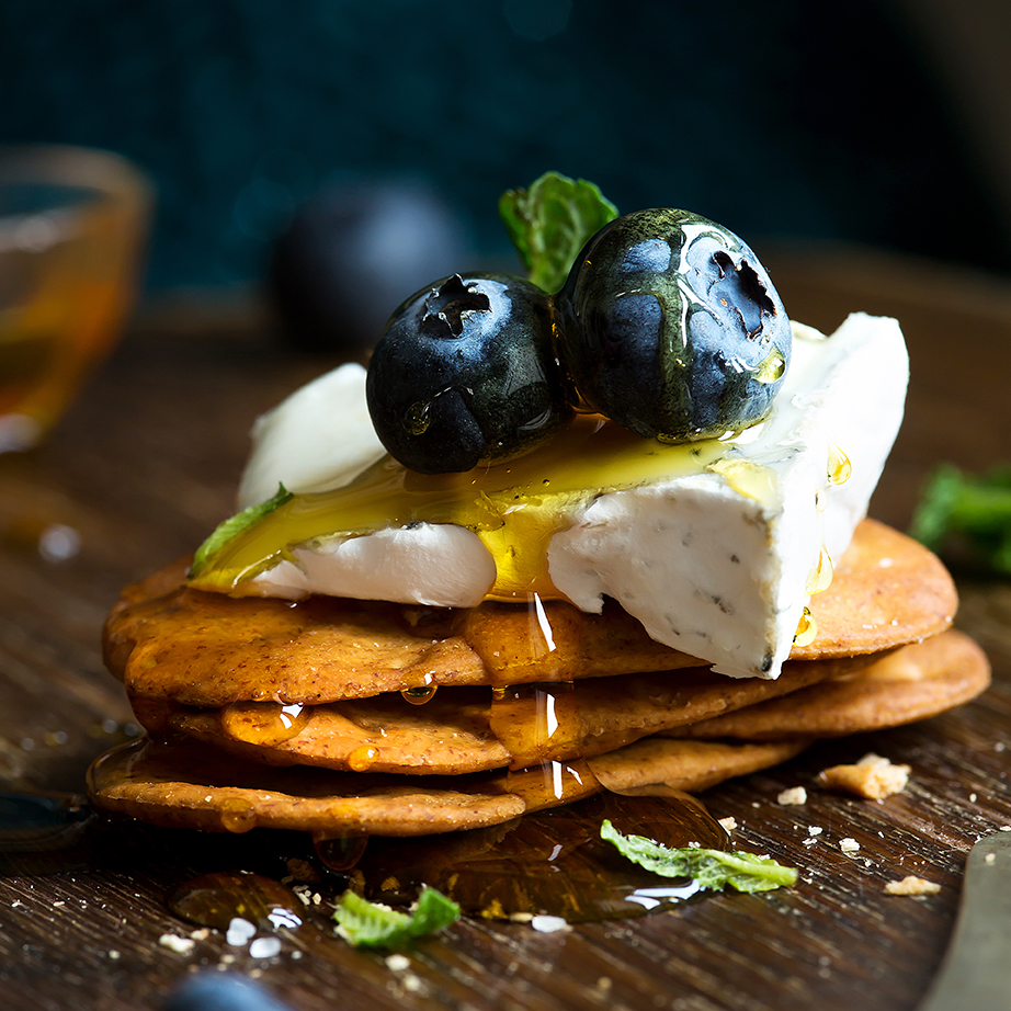 Cheese and Crackers | Stacy Grant | Food photography