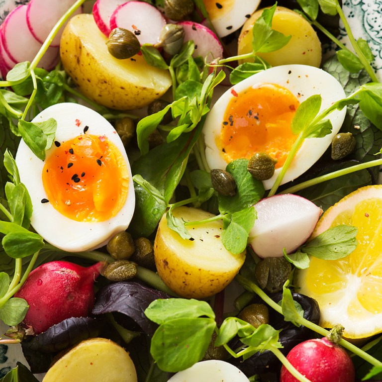 Boiled egg Spring salad | Tasty Tuesday | Stacy Grant Photography