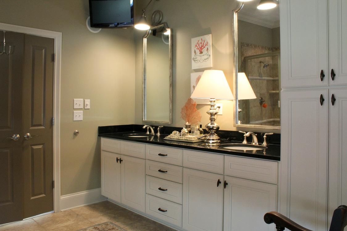 Best Kitchen Gallery: Benjamin Moore Stacyjacobihome of Benjamin Moore Sea Haze Kitchen Cabinets on rachelxblog.com