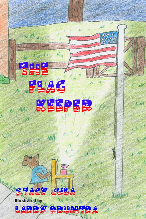 The Flag Keeper American flag book for children